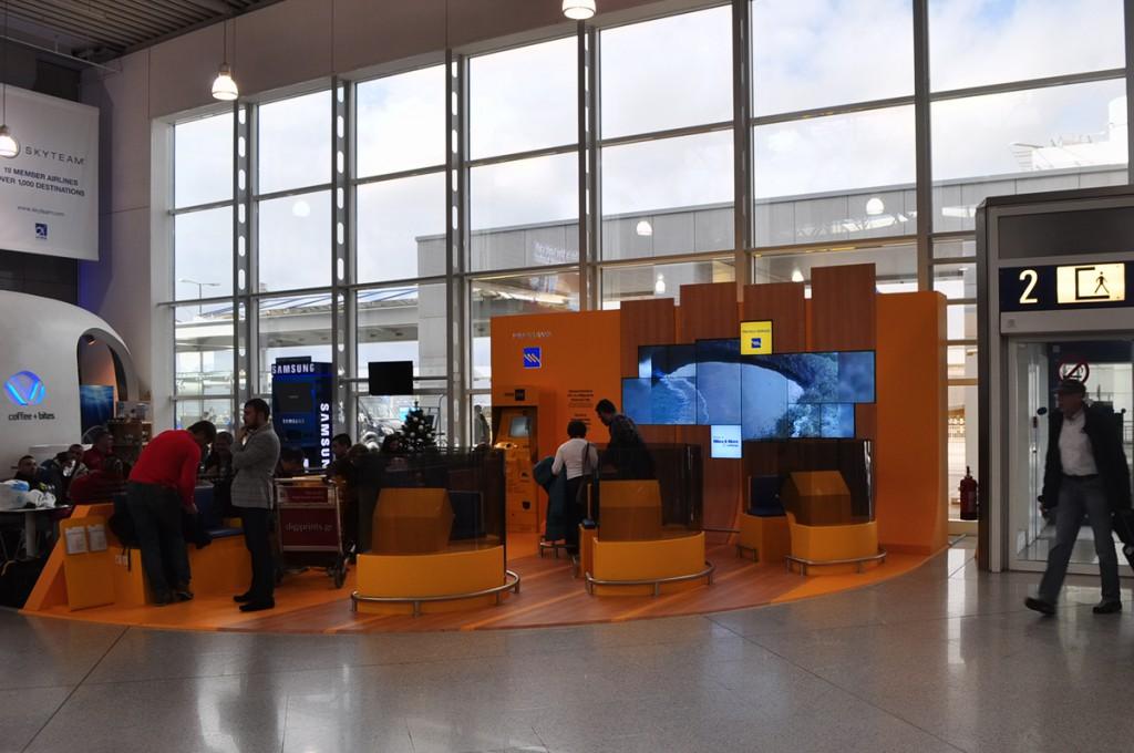 προώθηση προϊόντωνστο αεροδρόμιο Ελ.Βενιζέλος